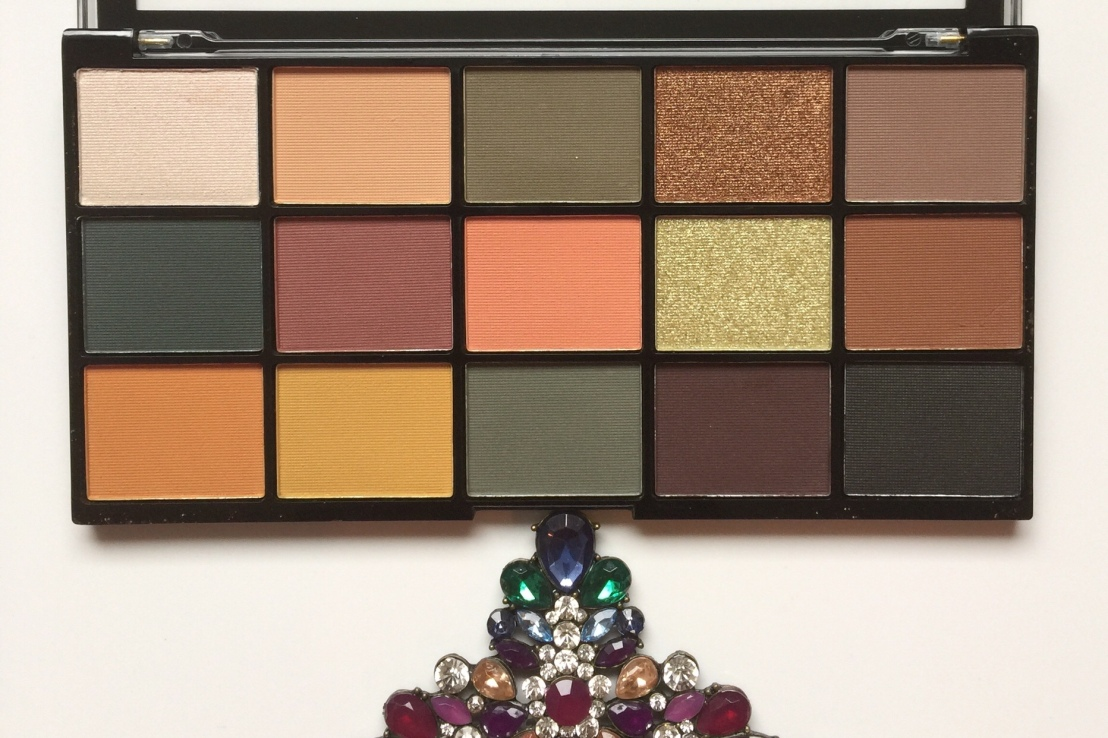 Makeup revolution Re-loaded Iconic Division PaletteReview
