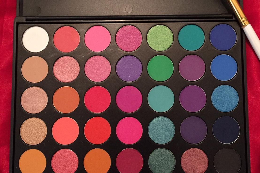 MISKOS 35E Eyeshadow palette Review, (Morphe 35B dUPEALERT)