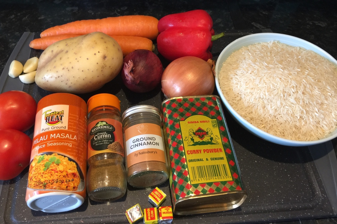 How To Cook Pilau Rice (my ownversion)