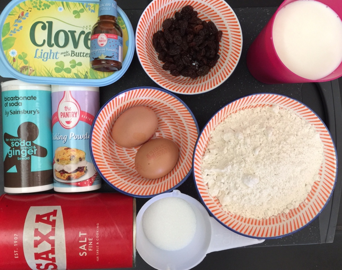 Pancake Raisin Recipe (myversion)